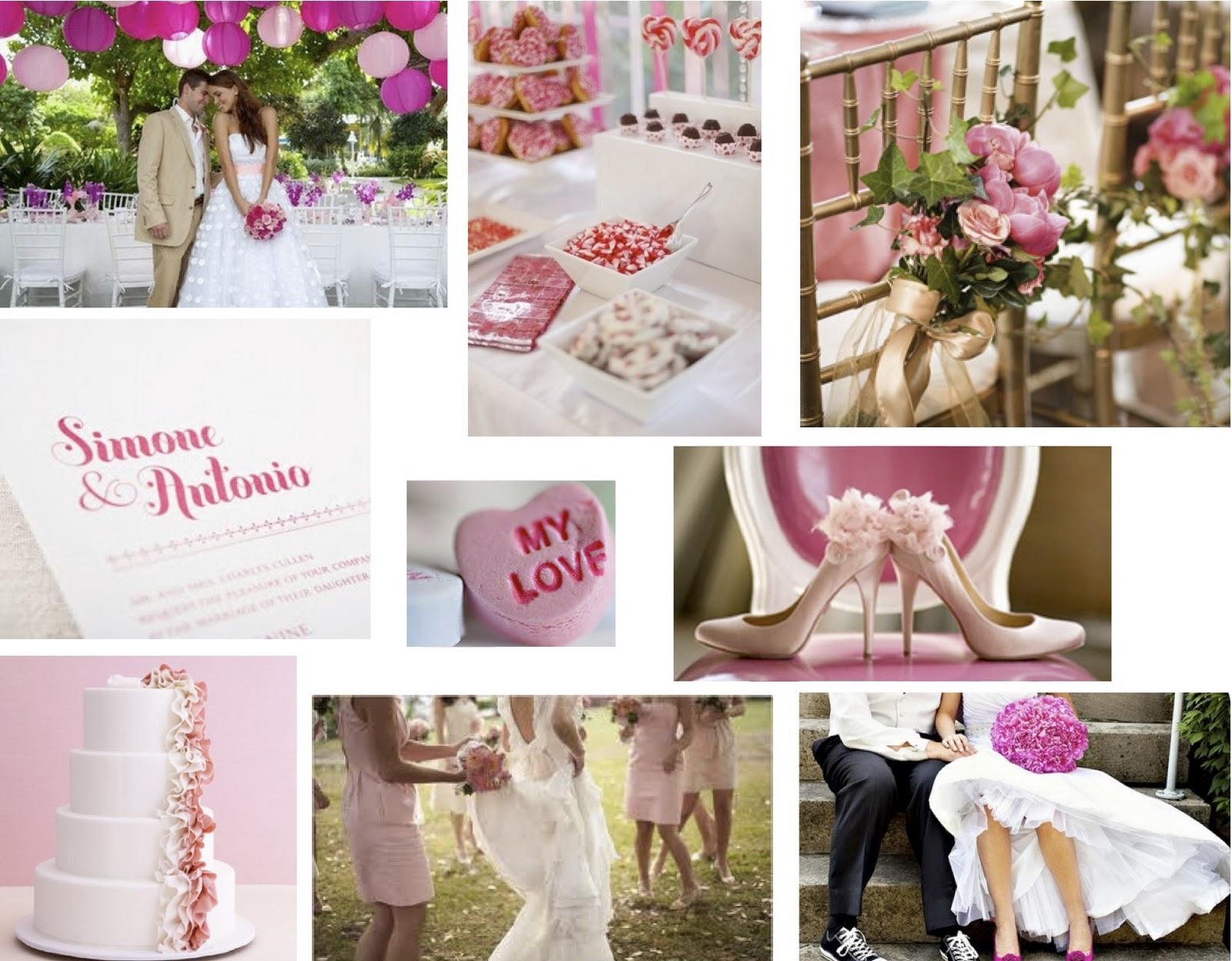 Dallas Wedding Planner - Deanie Michelle Events - pink valentine's day wedding