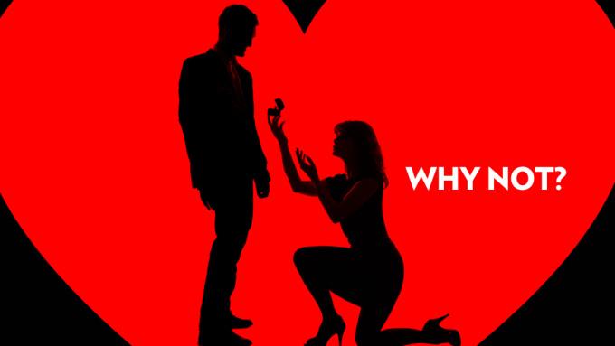 Woman-propose